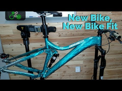 Get the Right Fit on your New Bike - Rundown of a client bike
