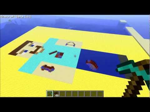 Operation: the Board Game in Minecraft
