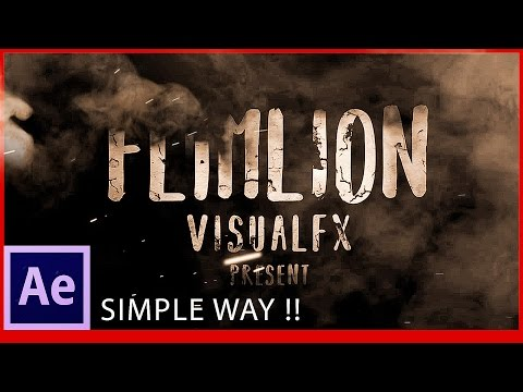 After Effects Tutorial: Logo & Text Animation | Cinematic Titles | Raees trailer effect