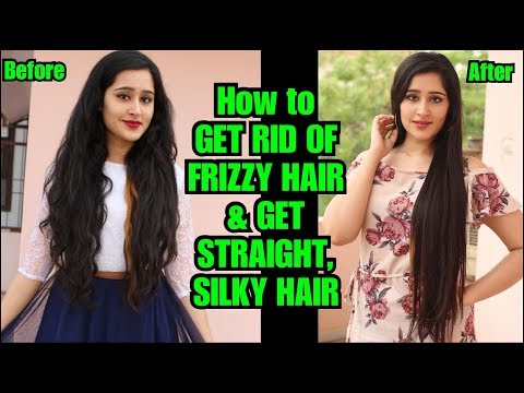 FOLLOW THIS TO GET STRAIGHT HAIR & GET RID OF FRIZZ AND DAMAGED HAIR | ThatGlamGirl