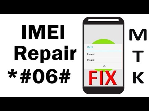 How to change IMEI number in MTK IMEI REPAIR CHANGE WRITE ANDROID