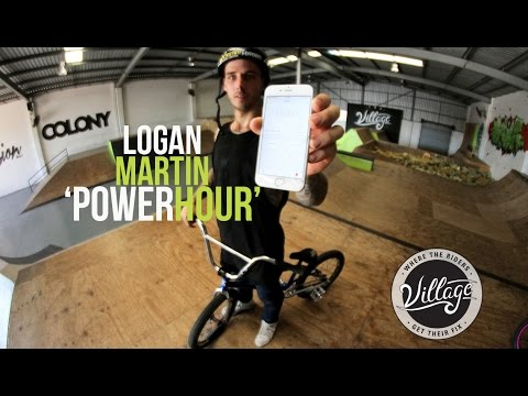 LOGAN MARTIN V'S THE HOUR OF POWER!!