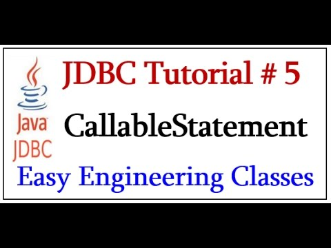 JDBC Callable Interface - How to Call Stored Procedure and Functions using Java