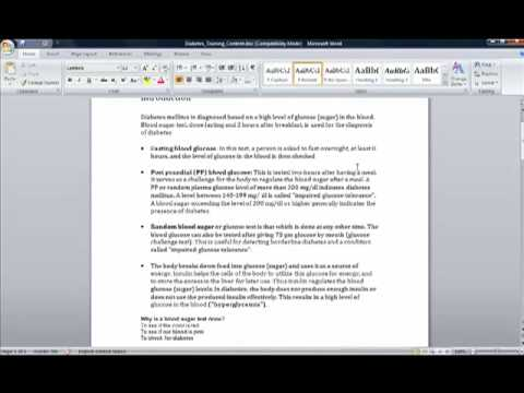 How to convert a Word document into an eLearning course