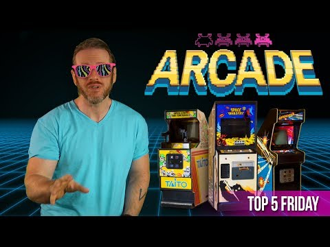 Billy's Top 5 Most Wanted Arcade Cabinets - Top 5 Friday