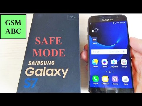 How to Easily Remove a Malware or Apps on Samsung Galaxy S7, S7 edge (SAFE MODE)