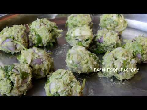 Hyacinth Bean Vada | Avarekalu Vada | Farm Food Factory