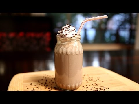 How To Make Chocolate Banana Smoothie | Delicious Smoothie Recipe | Ruchi's Kitchen