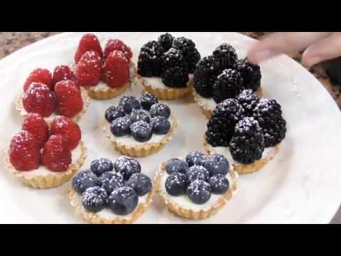 Assorted Mini Fruit Tarts | Easy Dessert | Pastry Chef Favian