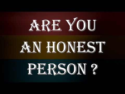 Are You An Honest Person?