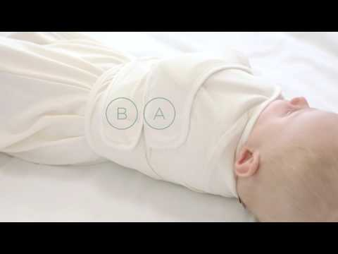 Ergobaby Baby Sleeping Bag + Swaddle Set   How to swaddle arms in or arms out