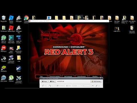 if maps arn't showing up in red alert 3 (win 10) cnc, origin