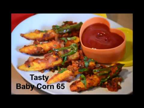 Baby Corn 65 - without deep fry