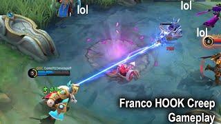 Franco Hook CREEP Gameplay Mobile Legends