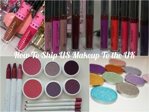 How To Ship US Makeup To The UK - Cheap Affordable!