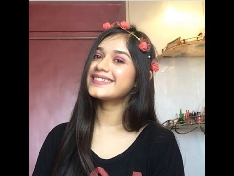 Full Face Makeup only using Lipsticks - Jannat Zubair Rahmani
