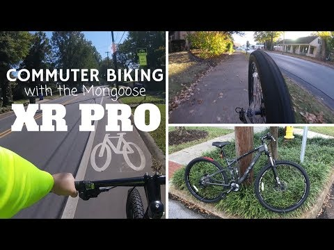 Mongoose XR-Pro Mountain Bike followup - a new bike and a month of commuting