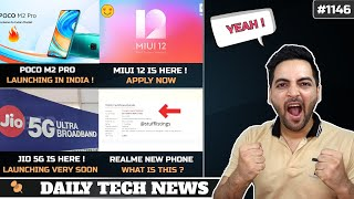 POCO M2 Pro India Launch Confirmed,MIUI 12 India Launch,Realme New Phone,Jio 5G,Honor X10 Launch