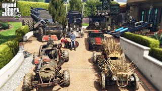 GTA 5 - Stealing MADMAX Vehicles with Michael! (Real Life Cars #91)