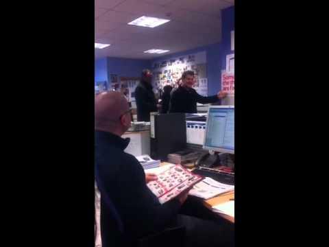 James Corden visits Tesco head office to surprise Rebekkah!