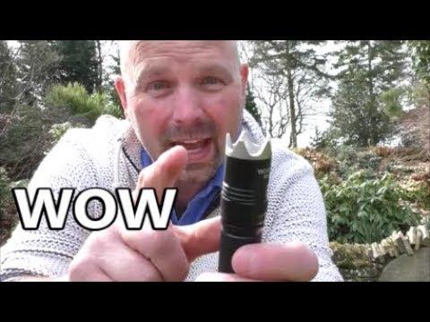 My First Proper 'TACTICAL' Flashlight? Wowtac BSS V3 Review