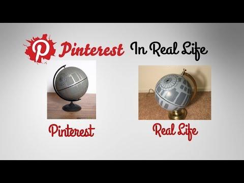 DIY Deathstar - Pinterest in Real Life