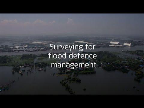 Surveying for flood defence management
