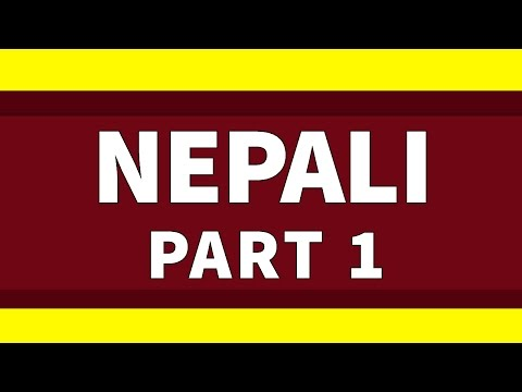 Learn Nepali 500 Phrases for Beginners Lesson 1 - Basic Phrases