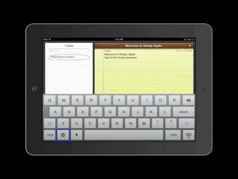 How To Add An Additional Keybord To An iOS Device