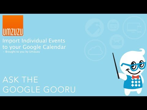 Import Individual Outlook Events into your Google Calendar