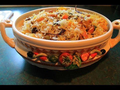 Spicy Vegetable  Dum Biryani