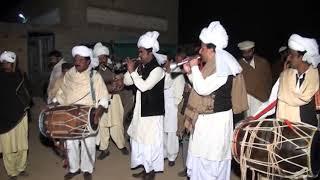 Dhol sharna yadan teriyan song by ustad saqlain,ishfaq group shadi Malik Usman Awan 03045850480