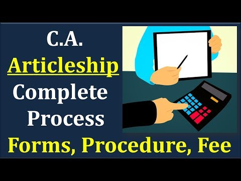 How to Register for CA Articleship    Complete Procedure
