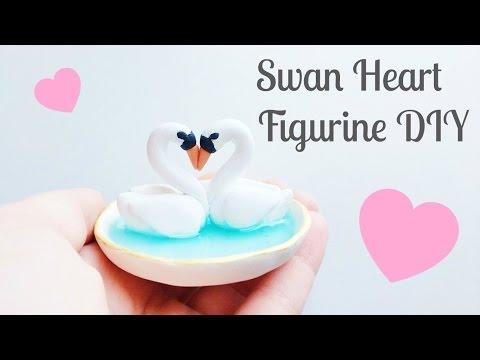 Swan Heart Figurine Tutorial