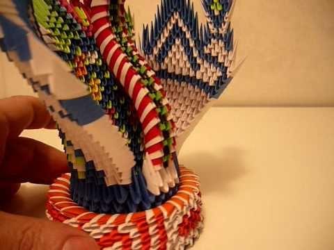 3D origami  peacock fantasy 2.MOV