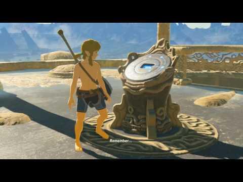 Zelda BotW ~1.5hr Speedrun Route