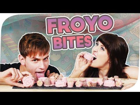 FroYo BITES I Frozen Joghurt mit Puffreis | Kostas Kind & Ella TheBee | #flipfood
