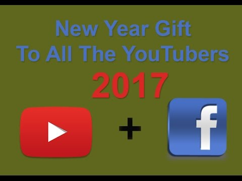 New Year Gift to YouTubers