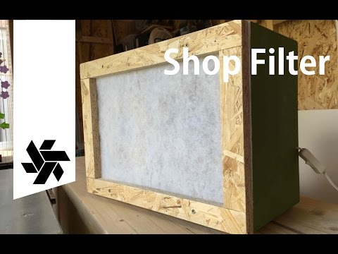 Shop Dust Air Filter & Fume Extractor