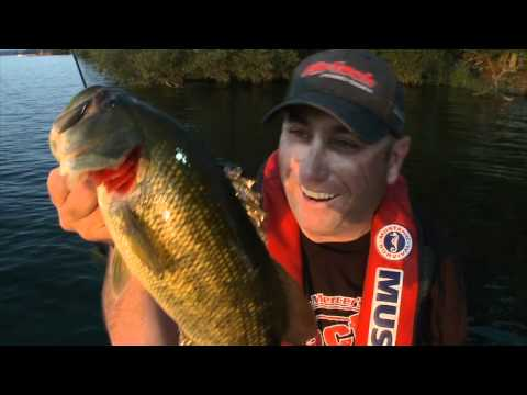 Tying Braided Line to Fluorocarbon Line  - Facts of Fishing The show
