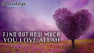 Find Out How Much You Love Allah