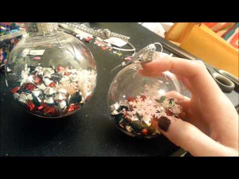 DIY Christmas Ornaments: Great Gift Idea or for Your Own Tree!