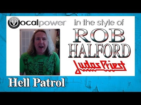 How to Sing Metal in the style of Rob Halford (Judas Priest) | Vocal Power