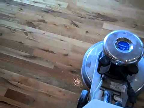 Sandless Wood Floor Refinishing and Rejuvenation with UltraS