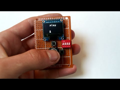 Handheld Arduino game
