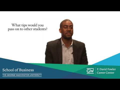 Career Tips from GWSBfowler Students - Updated Resume - LinkedIn Profile