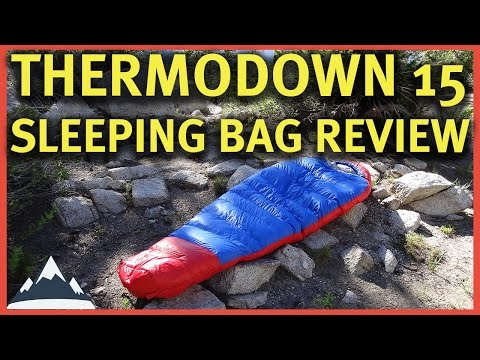 Thermodown 15 Sleeping Bag Review - Paria Outdoor Products