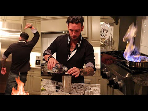 He's Back! Crazy Cooking and Drinking with Bananas....and Fire!