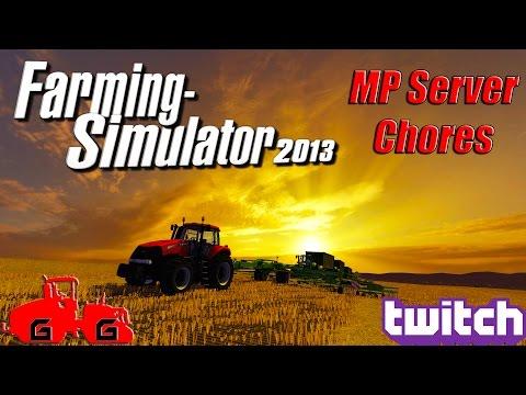 Farming Simulator 2013 - MP Server Farming!