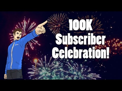 100K Subscriber Celebration:  Omegle Meet-up, Channel Achievements, & More!